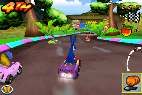 Screenshot Crash Bandicoot Nitro Kart 3D