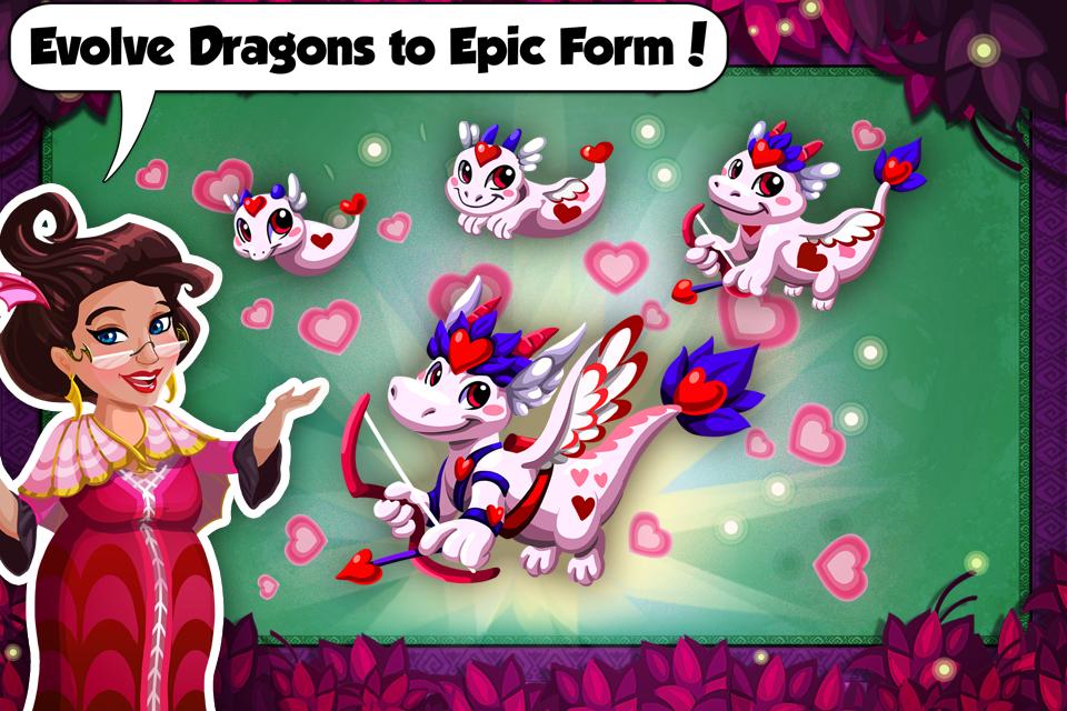Screenshot Dragon Story: Valentine's Day