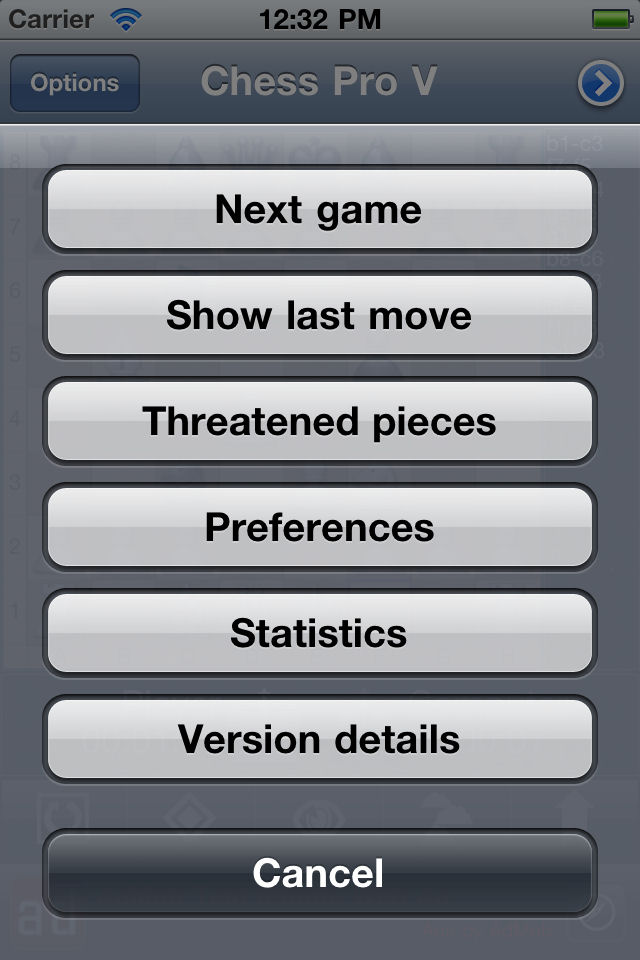 Screenshot Chess Pro V